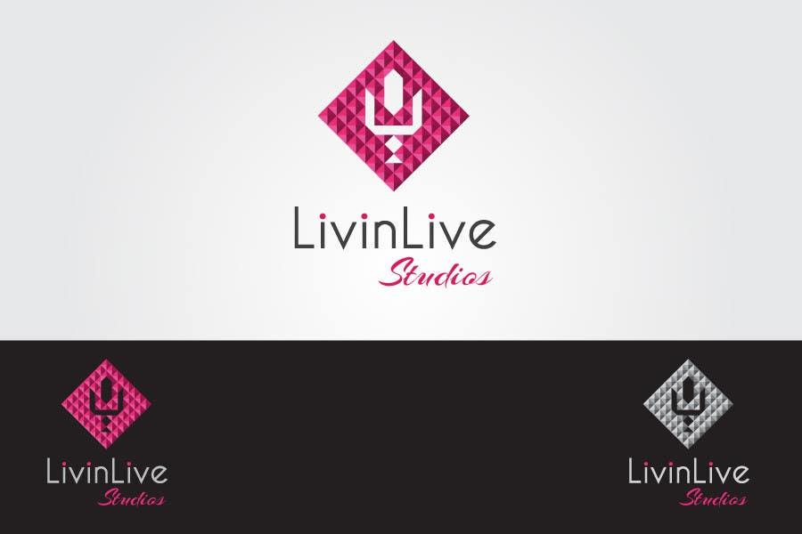 Bài tham dự cuộc thi #                                        92                                      cho                                         Design a Logo for LivinLIveStudios Musical Recording Studio