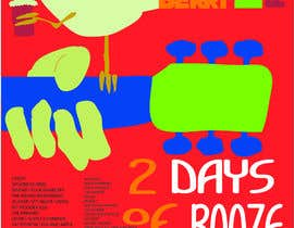 nº 9 pour Poster Design for 2 Day Music Festival par nthdimension