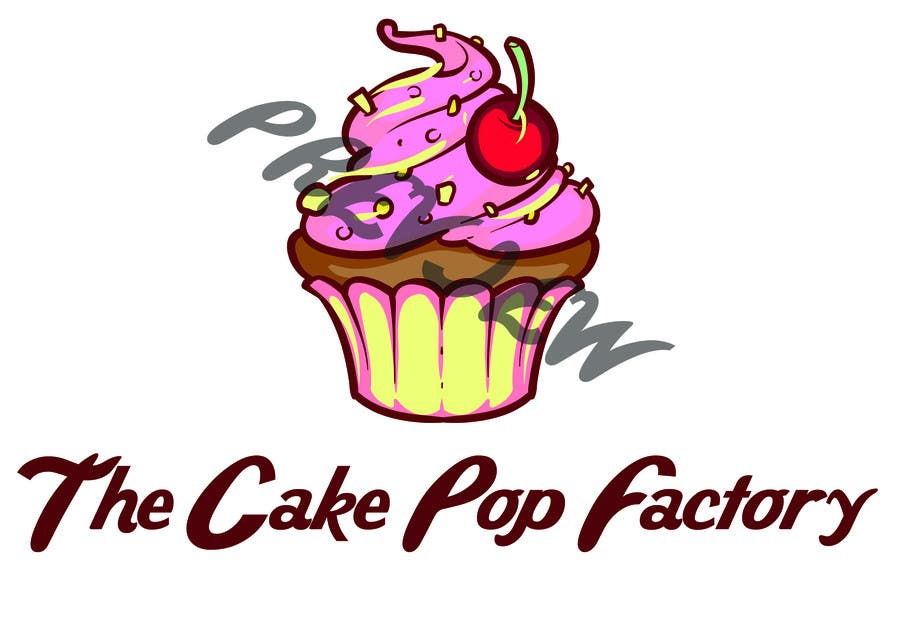 Proposition n°3 du concours Logo Design for The Cake Pop Factory