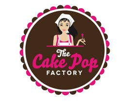 DesignPRO72 tarafından Logo Design for The Cake Pop Factory için no 191