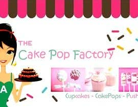 #72 for Logo Design for The Cake Pop Factory af malakark