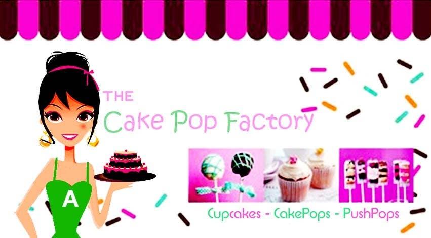 #69 for Logo Design for The Cake Pop Factory by malakark