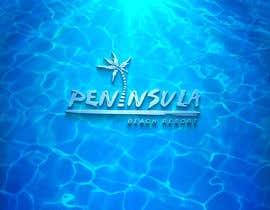 Nro 336 kilpailuun Peninsula Beach Resort Logo käyttäjältä legol2s