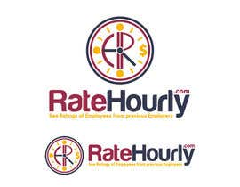 #36 cho Design a Logo for Rate Hourly bởi vladimirsozolins