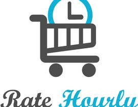 #23 untuk Design a Logo for Rate Hourly oleh tomaspokryvka