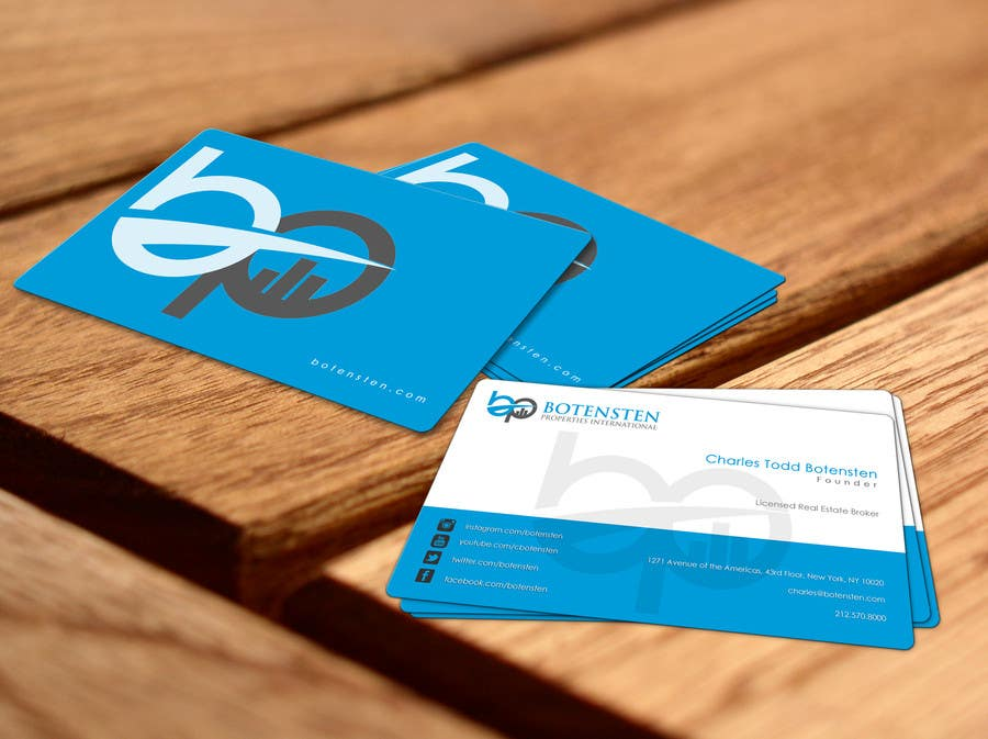 Proposition n°166 du concours Design Business Card for NYC Real Estate Firm