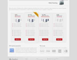 #1 for Design a Website Mockup for a Web Hosting Company by andrei11