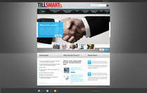 Graphic Design Contest Entry #1 for Website Design for TillSmart