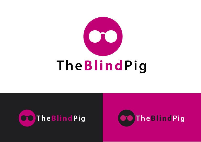 """#60 for Design a Logo for """"The Blind Pig"""" - A Marijuana Retail Store by alfonself2012"""