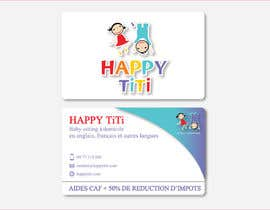 #37 para Logo and Business Card for Happy Titi (baby-sitting) por Vanai