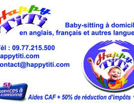 pcorpuz tarafından Logo and Business Card for Happy Titi (baby-sitting) için no 33