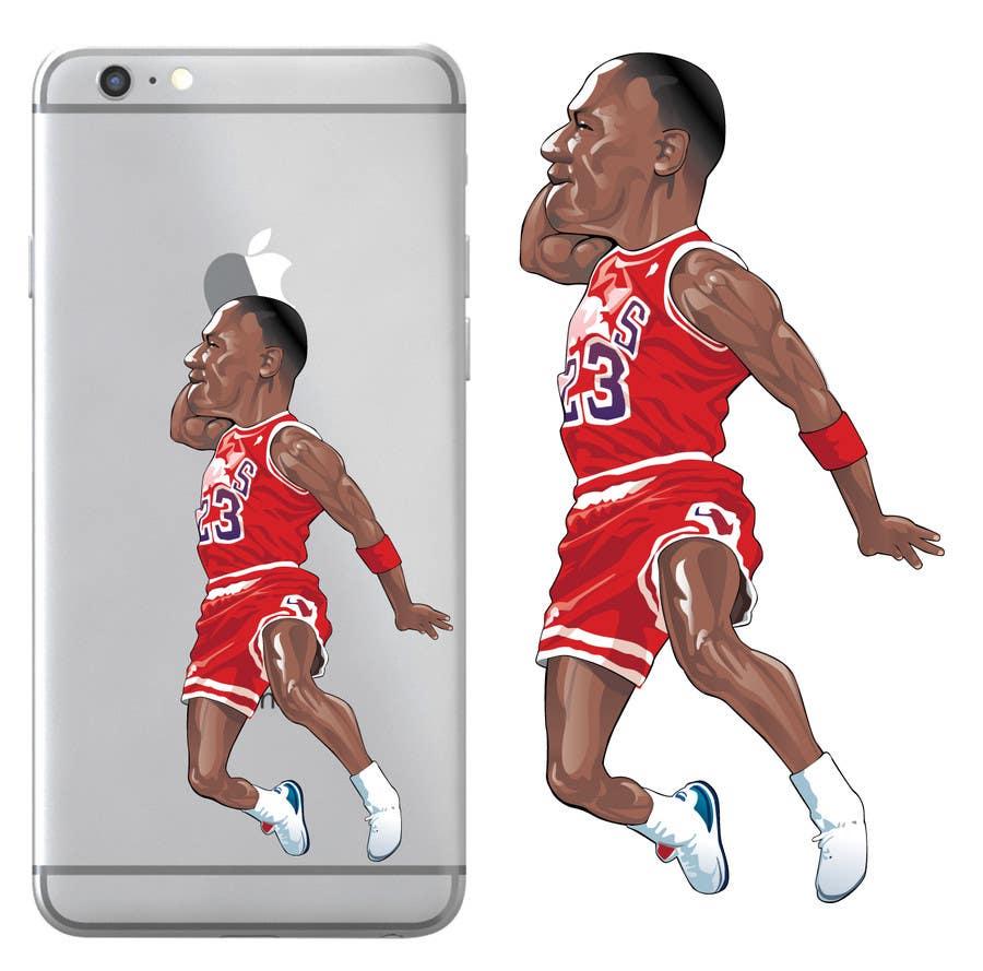311b7291ce17 Entry  31 by caloylvr for NBA Vector Cartoon Illustration - Michael ...