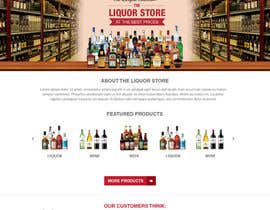 rupradeep tarafından Design a Website Mockup For A Liquor Store için no 12