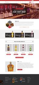 ameet4u tarafından Design a Website Mockup For A Liquor Store için no 14
