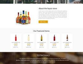 nextdesign2007 tarafından Design a Website Mockup For A Liquor Store için no 20
