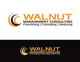 #63 untuk Design a Logo for Walnut Management Consulting an International Business & Management Consulting Organization oleh sagorak47