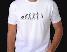 "ShuvoDas1993 tarafından Design an ""Evolution of Man"" Fishing T-Shirt için no 11"