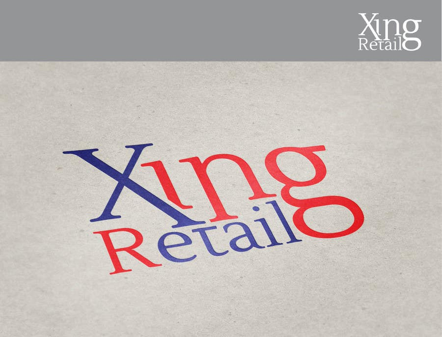 Inscrição nº 9 do Concurso para Design a Logo for Xing Retail (Management Consulting Company)