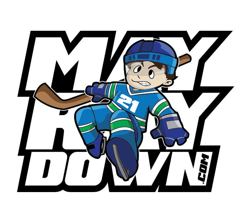 Contest Entry #                                        23                                      for                                         Logo design for a hockey related website