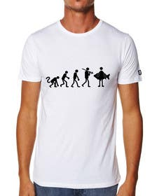 "ozafebri tarafından Design an ""Evolution of Man to Carp Fisherman"" T-Shirt için no 11"