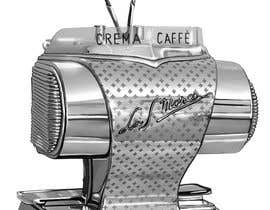 #23 for Illustrate a vintage espresso machine.. af unsoftmanbox