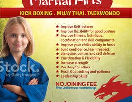 #13 for Design a Flyer for Kids Martial Arts Classes af mediatronics