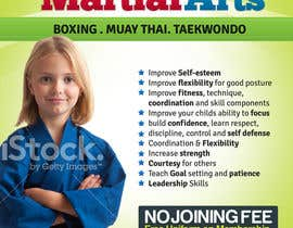#22 for Design a Flyer for Kids Martial Arts Classes af mediatronics