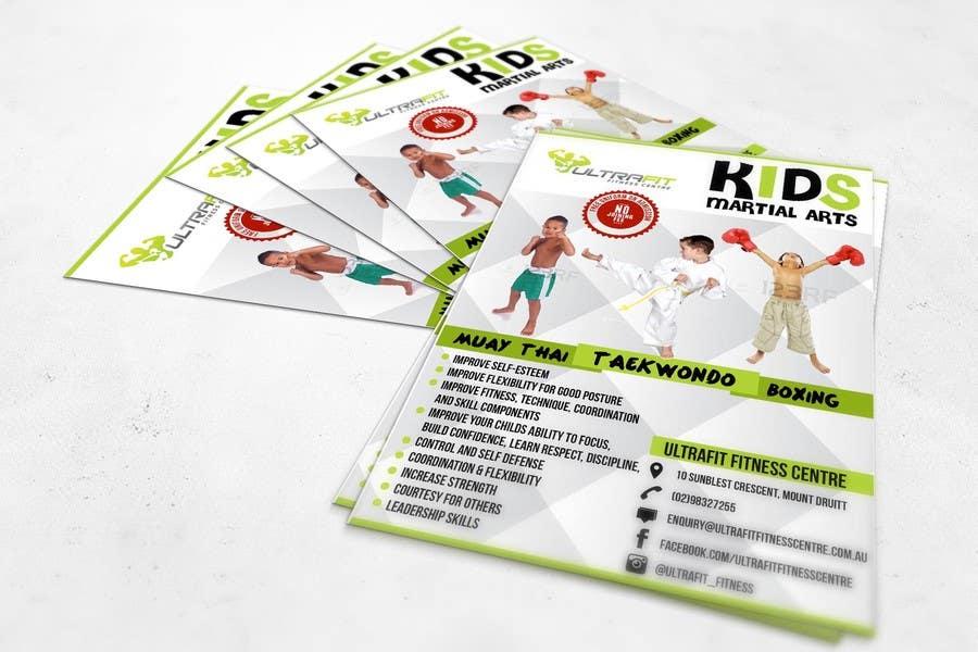 Kilpailutyö #28 kilpailussa Design a Flyer for Kids Martial Arts Classes