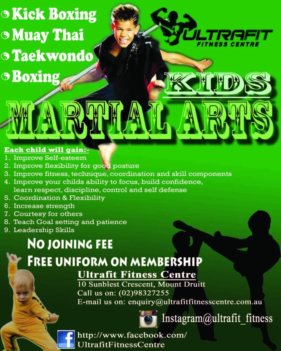 Inscrição nº                                         1                                      do Concurso para                                         Design a Flyer for Kids Martial Arts Classes
