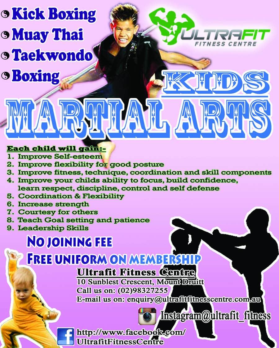 Inscrição nº                                         6                                      do Concurso para                                         Design a Flyer for Kids Martial Arts Classes