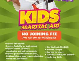 #33 for Design a Flyer for Kids Martial Arts Classes af egraphicsvn