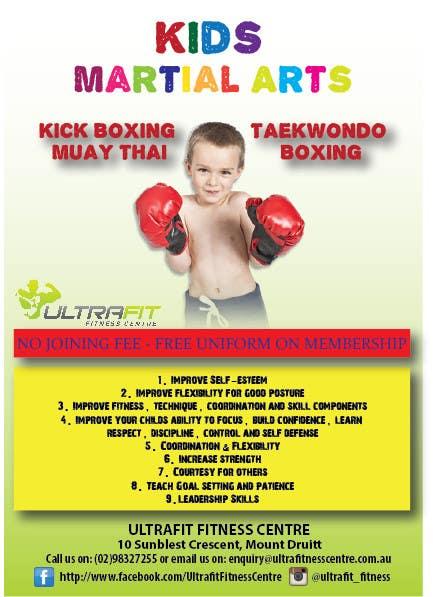 Kilpailutyö #34 kilpailussa Design a Flyer for Kids Martial Arts Classes