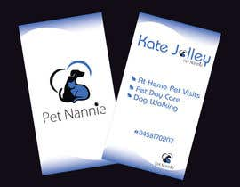 TheDesignA tarafından Design some Business Cards for Pet Nannie için no 36