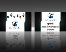 nº 50 pour Design some Business Cards for Pet Nannie par vansh9870