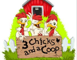 #62 cho NEED SPUNKY CARTOON-LIKE CHICKENS FOR LOGO DESIGN bởi momotaros