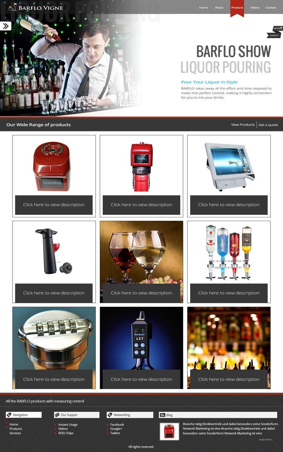#35 for Design a Website Mockup for full website by manishb1