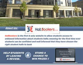 #49 for Design a Flyer/Poster for Hallbookers by pointlesspixels