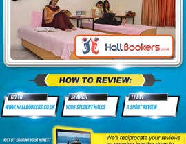 #80 for Design a Flyer/Poster for Hallbookers by designblast001