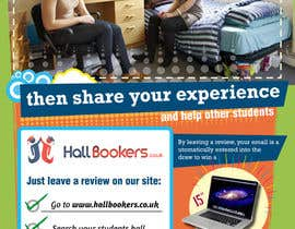 #52 for Design a Flyer/Poster for Hallbookers by SebaComun
