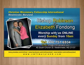 teAmGrafic tarafından Church Livestream flyer için no 7