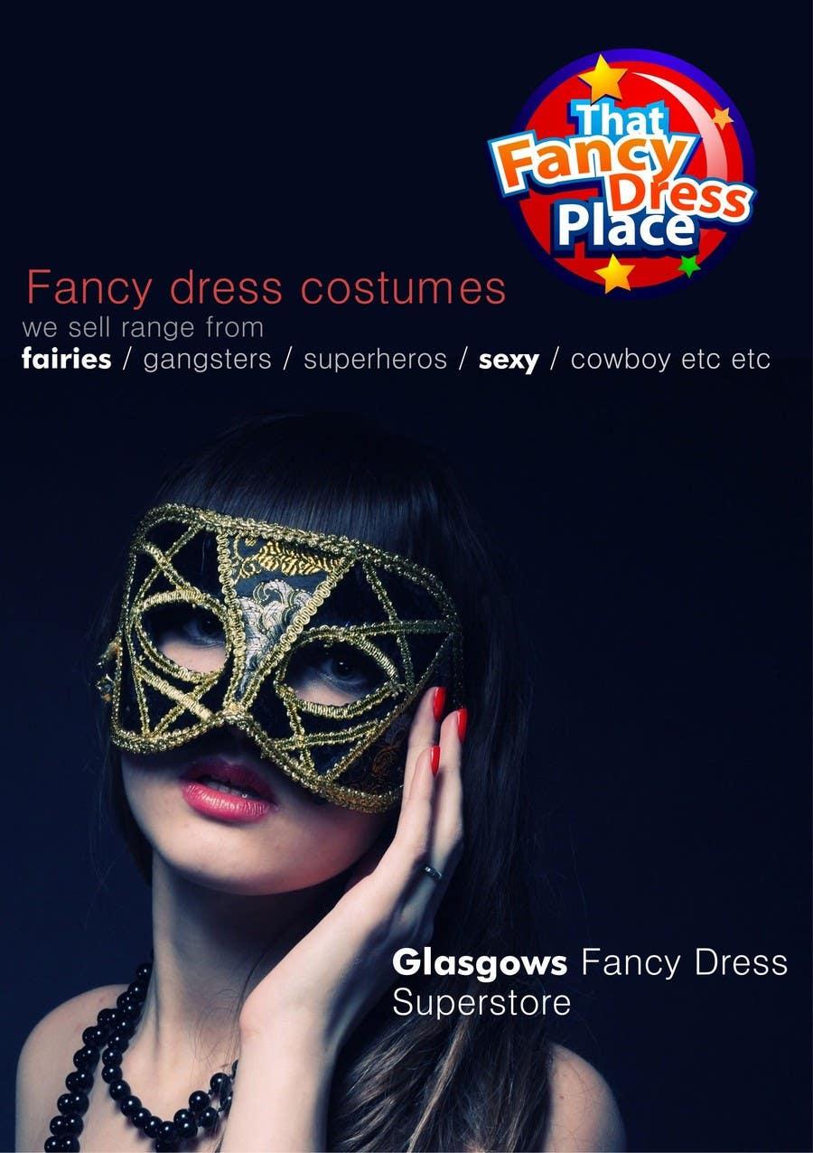 Proposition n°62 du concours Design a Flyer for Fancy Dress Business