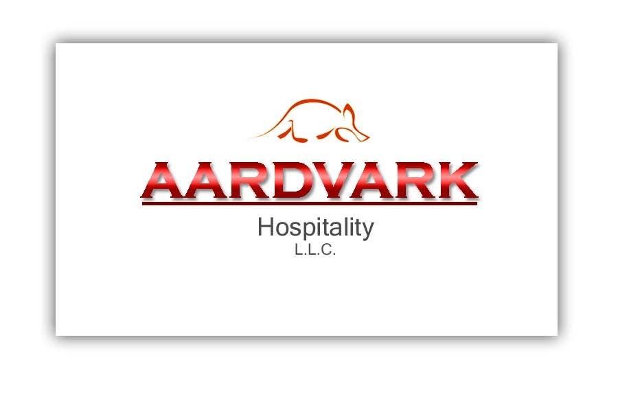 Konkurrenceindlæg #202 for Logo Design for Aardvark Hospitality L.L.C.