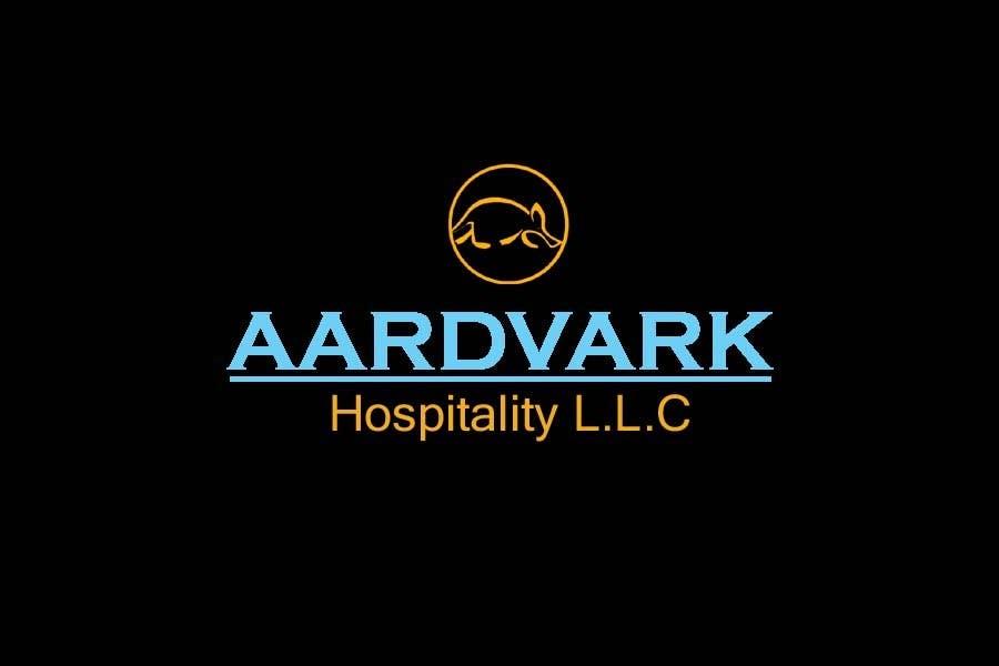 Konkurrenceindlæg #193 for Logo Design for Aardvark Hospitality L.L.C.