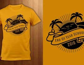 Nro 13 kilpailuun T-shirt design for end of year school käyttäjältä ShadaoPartners