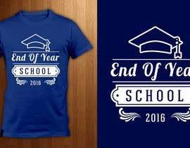 Nro 15 kilpailuun T-shirt design for end of year school käyttäjältä ShadaoPartners