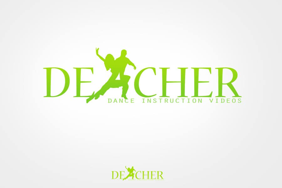 #40 for Design a logo for a dance instruction platform (Deacher) by rogeliobello