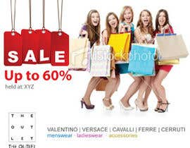 #24 untuk Banner Ad Design for The Outlet Fashion Company oleh melsdqueen