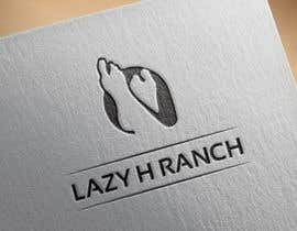 #23 for Design a logo for the Lazy H Ranch by javvadveerani