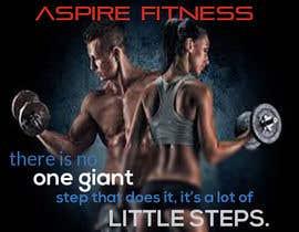 Nro 3 kilpailuun Aspire fitness poster design käyttäjältä NeriDesign