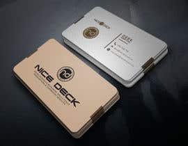 Nro 68 kilpailuun Business Card Design käyttäjältä mizan00007